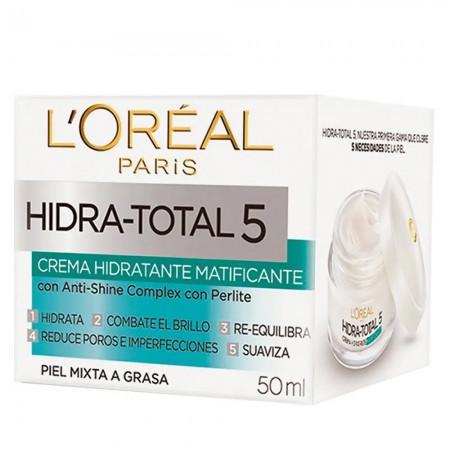 Hidra Total 5 Crema Matificante 50ml