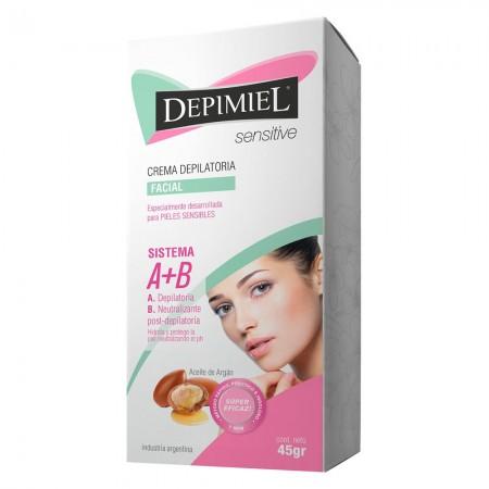 Crema Depiladora Facial Piel Sensible 45gr